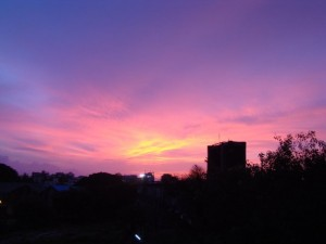 Colors of the 'Monsoon Sky' from my window