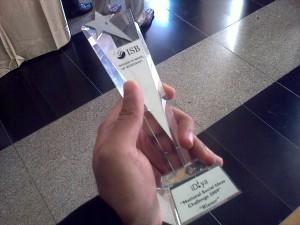 ISB iDiya 2009 - Winner