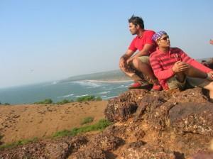 Akshay & Amit - Alibaug to Goa Biking Expedition Dec 2007